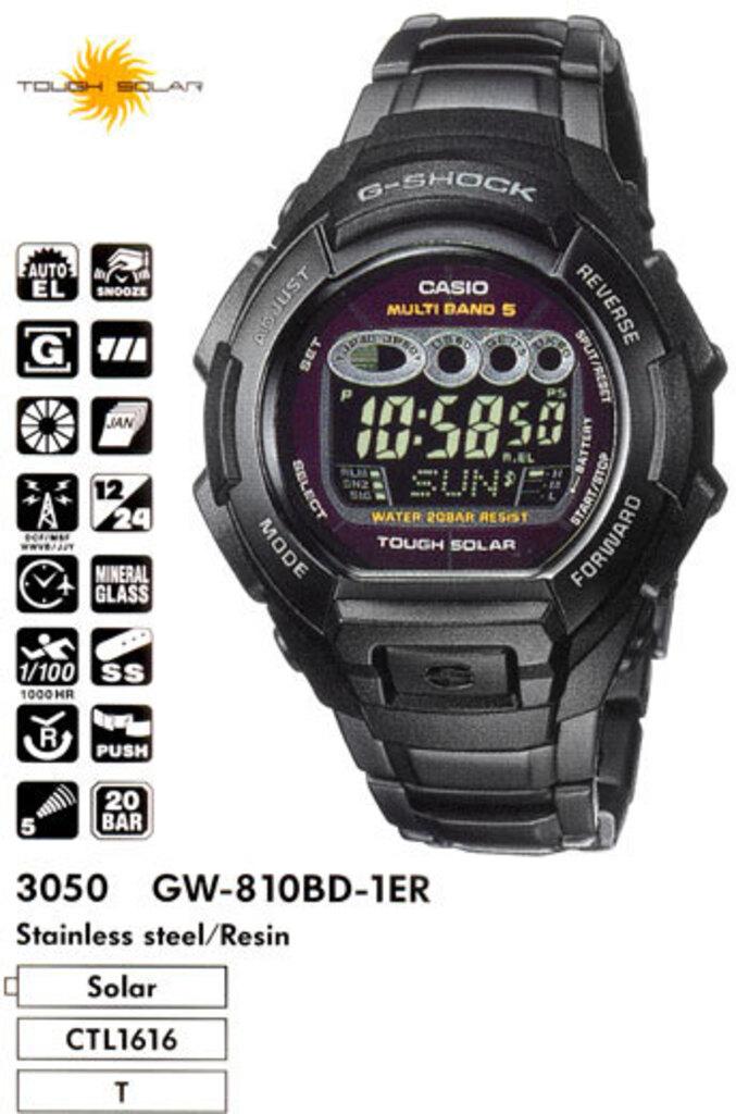Casio gshock 9200 1er описание