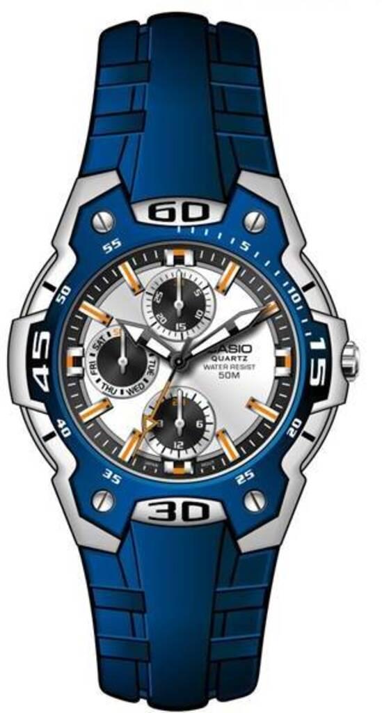 Часы Casio MTP-1303 в стиле минимал