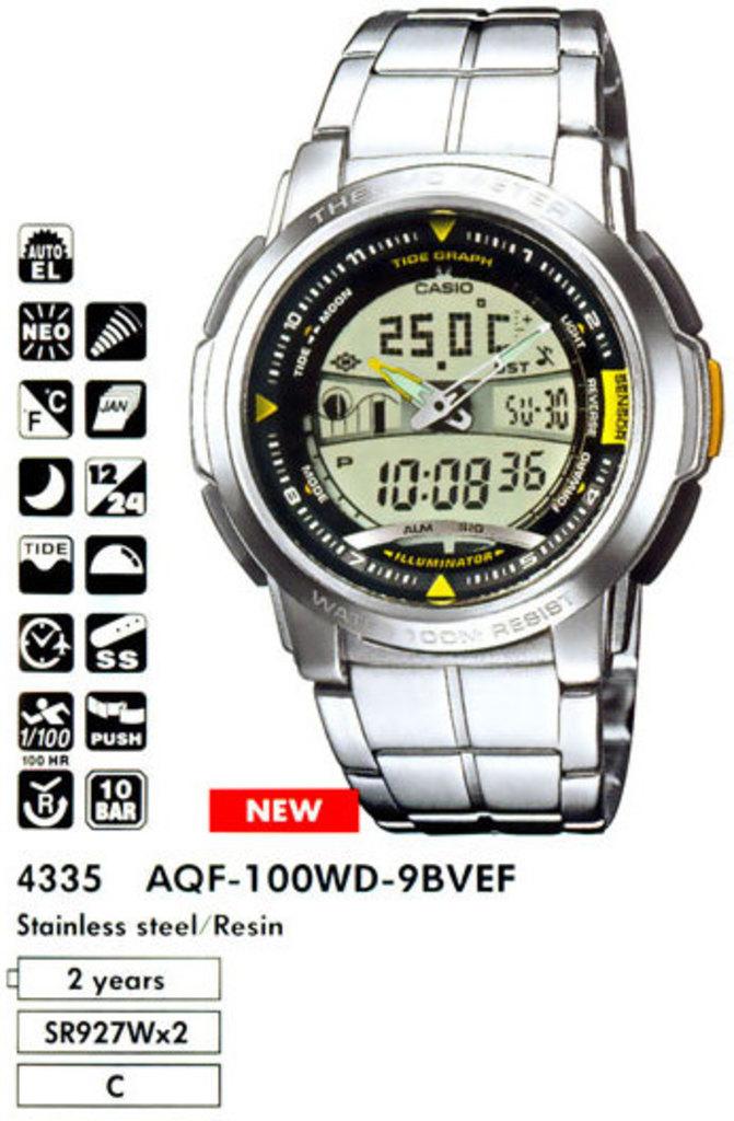 CASIO Модуль 4335/4348 - clockshopru