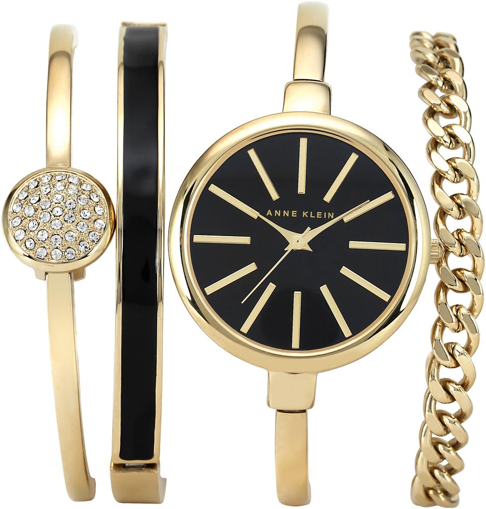 часы anne klein набор с браслетами запахи