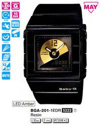 Часы CASIO BGA-201-1EER - Дека