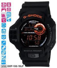 Годинник CASIO GDF-100-1BER 2011-08-11_GDF-100-1B.jpg — Дека
