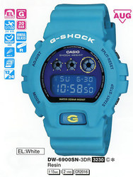 Часы CASIO DW-6900SN-3ER - ДЕКА