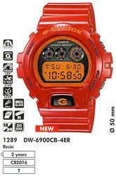 Часы CASIO DW-6900CB-4ER - Дека