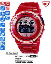 Годинник CASIO BGD-121-4ER - Дека