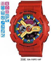 Часы CASIO GA-110FC-1AER - Дека