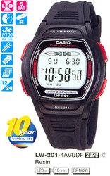 Часы CASIO LW-201-4AVDF - Дека