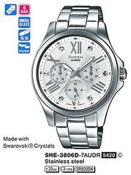 Часы CASIO SHE-3806D-7AUER - Дека