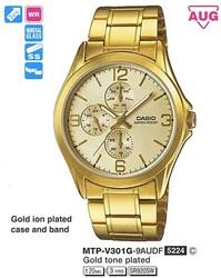 Часы CASIO MTP-V301G-9AUDF - Дека