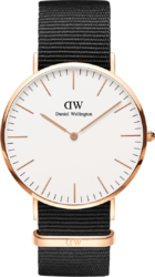 Часы Daniel Wellington DW00100257 Classic 40 Cornwall 40 RG White — ДЕКА