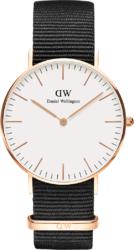 Часы Daniel Wellington DW00100259 Classic 36 Cornwall RG White - Дека