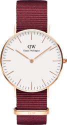 Часы Daniel Wellington DW00100271 Classic 36 Roselyn RG White — ДЕКА