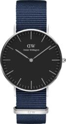 Часы Daniel Wellington DW00100282 Classic 36 Bayswater S Black - Дека