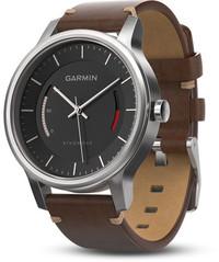Смарт-часы Garmin Vívomove Premium, Stainless Steel with Leather Band - Дека